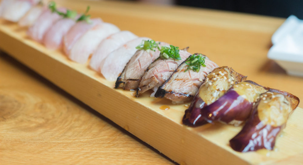 A selection of KUU's nigiri. Photos by Becca Wright