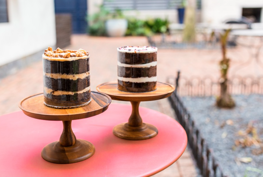 His and Hers cakes from Fluff Bake Bar.
