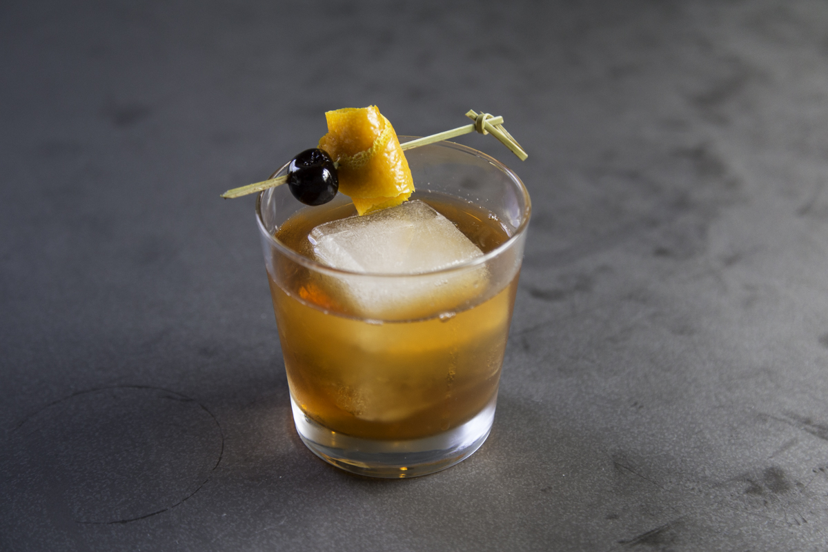 Old Fashioned at Field & Tides