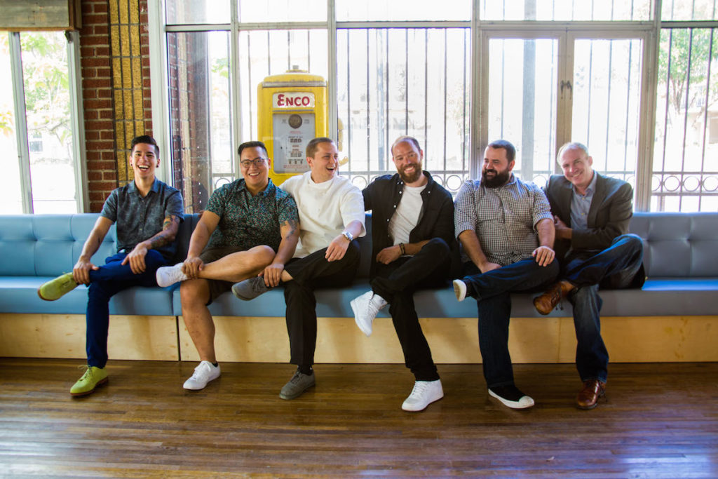 Alex Negranza, Justin Yu, Matt Boesen, Bobby Heugel, Terry Williams, Steve Flippo. Jenn Duncan photo