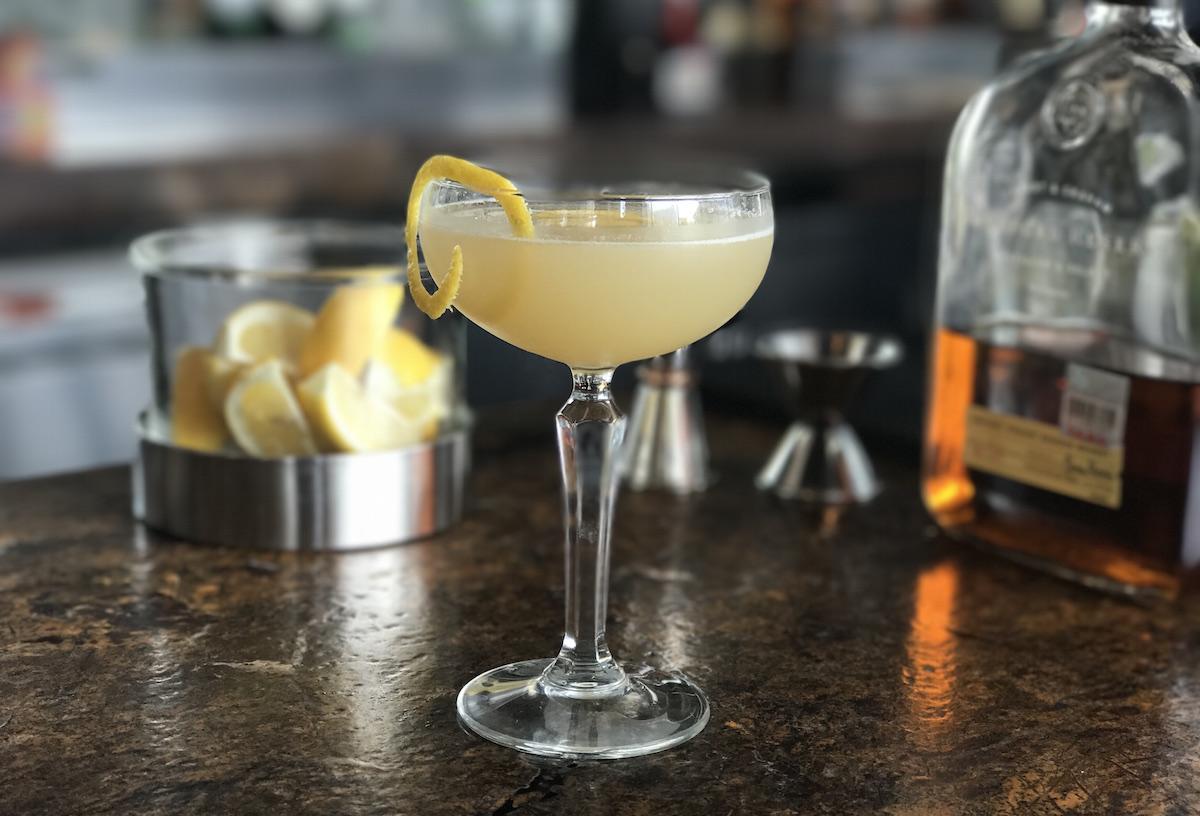 No. 7 cocktail at Biggio's. Photo courtesy