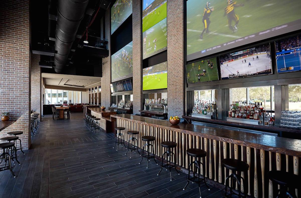 Biggio's bar. Photo courtesy