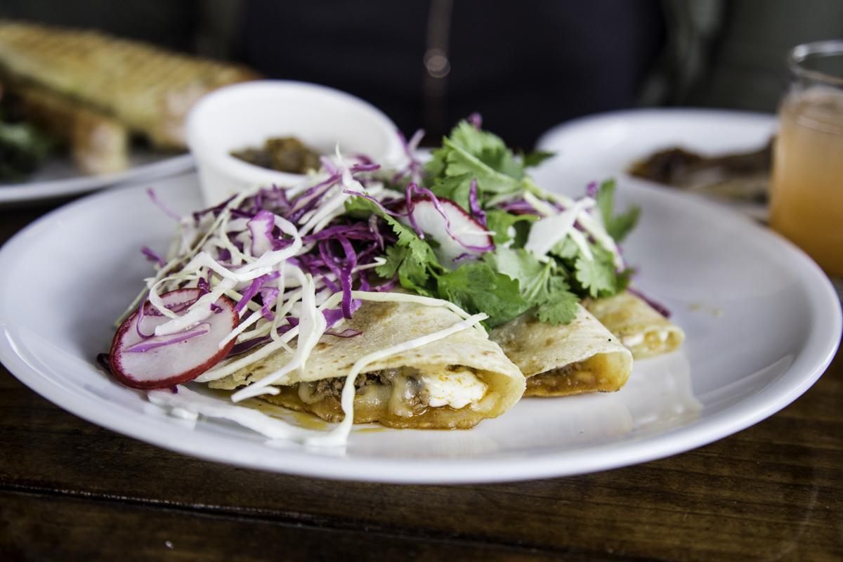Granny Rose's tacos at Presidio