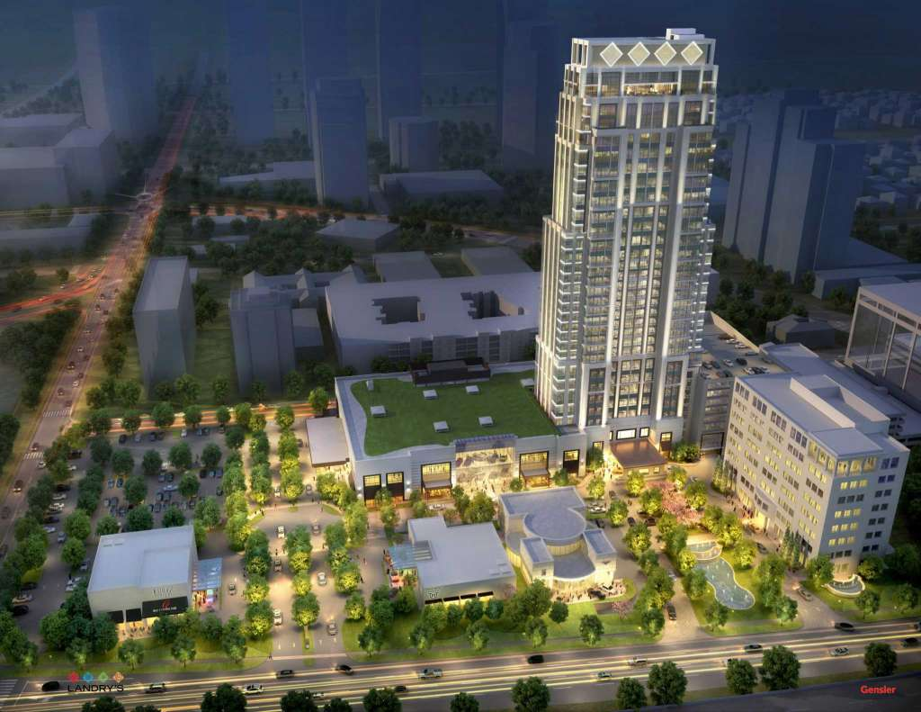 The Post Oak rendering