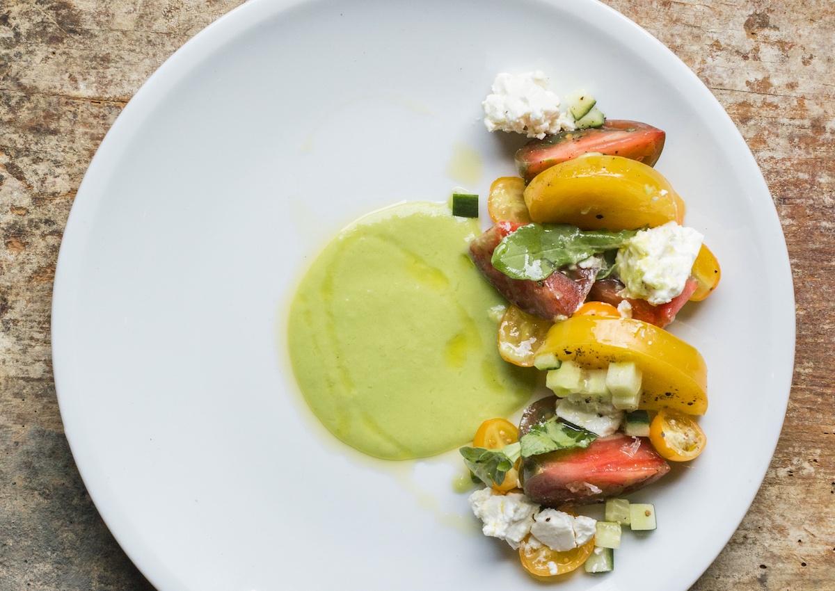 Coltivare Tomato Salad. Photo courtesy Coltivare