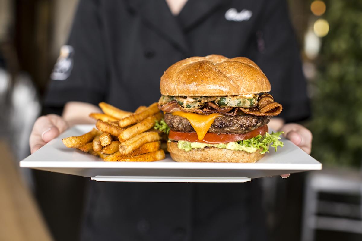 Jerry Built Saint Arnold Burger. Photo courtesy Jerry Built