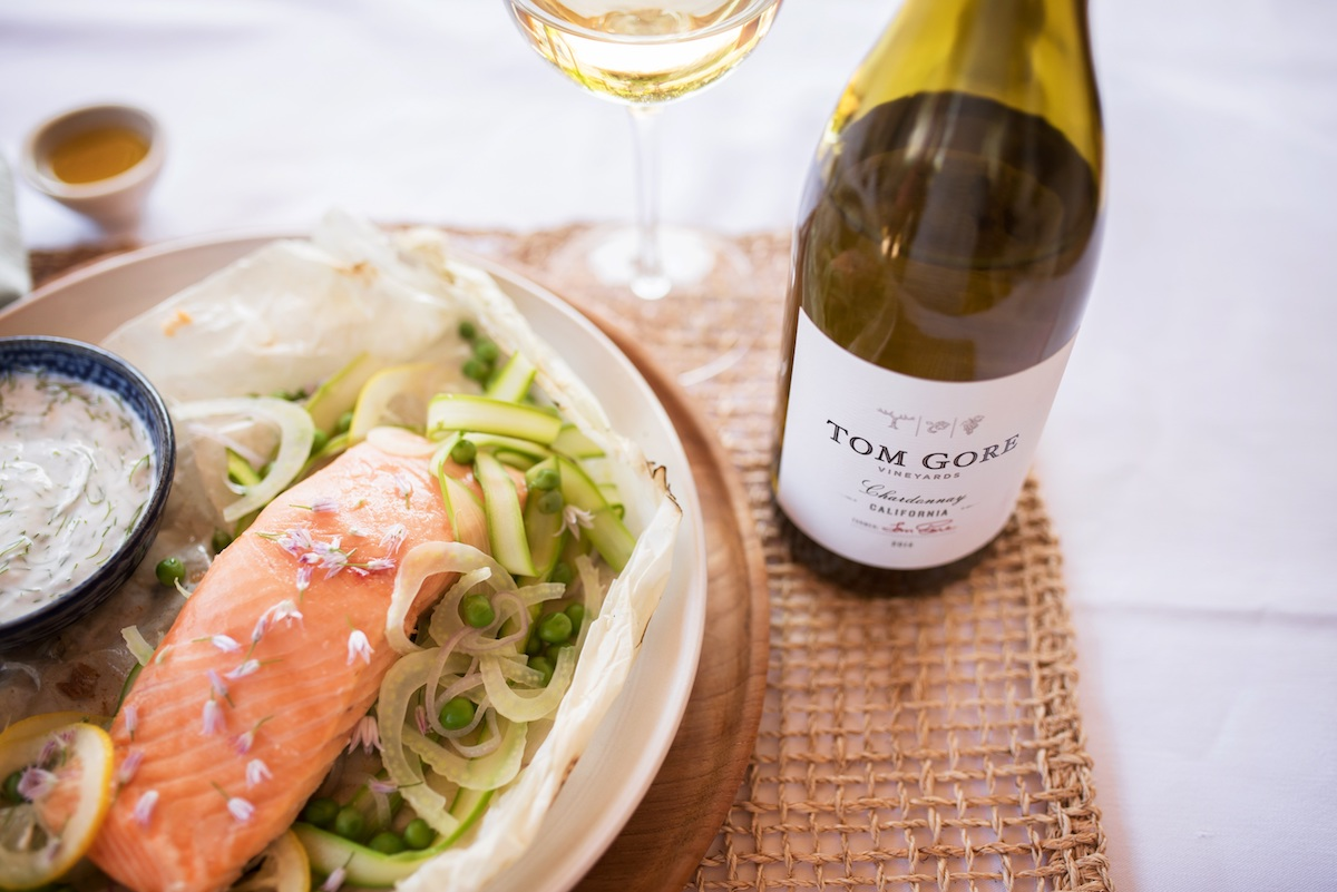 Springtime Recipe: Salmon With Fennel Yogurt Sauce