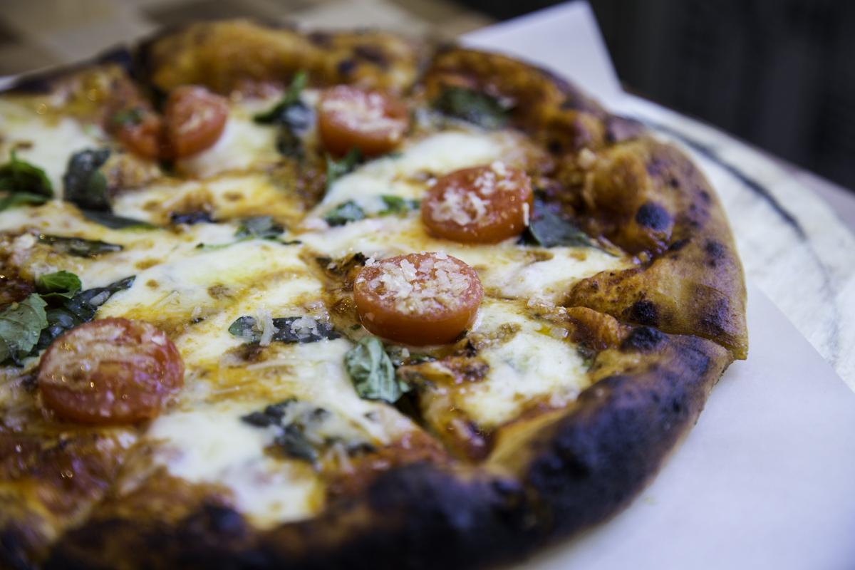 Pizza dough recipe courtesy of David Berg