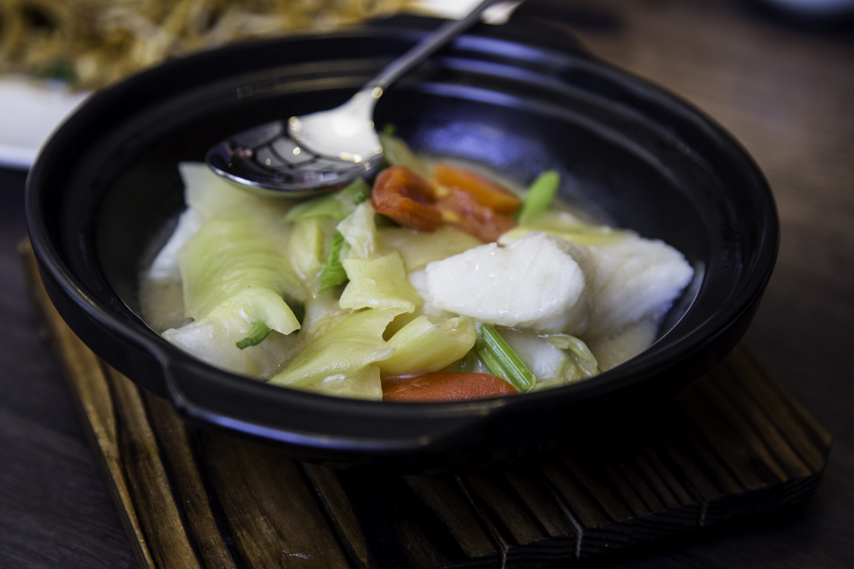 Shantou-style Chilean seabass