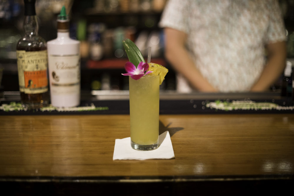 Lei Low's Junior Colada comes together in a snap