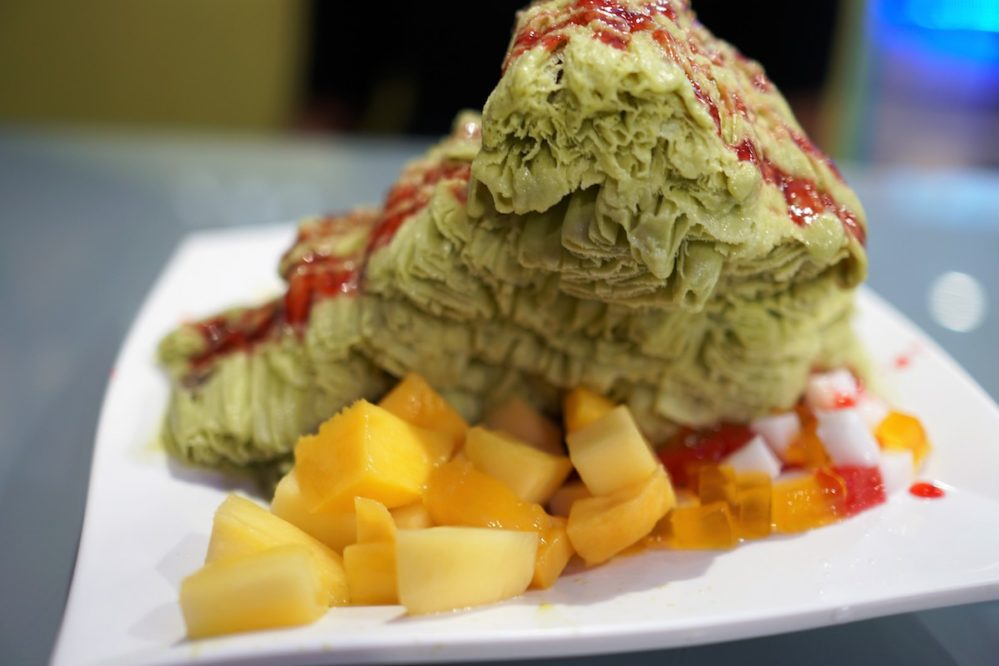 Nu Ice Cafe's shaved ice. Photo by Melody Yip