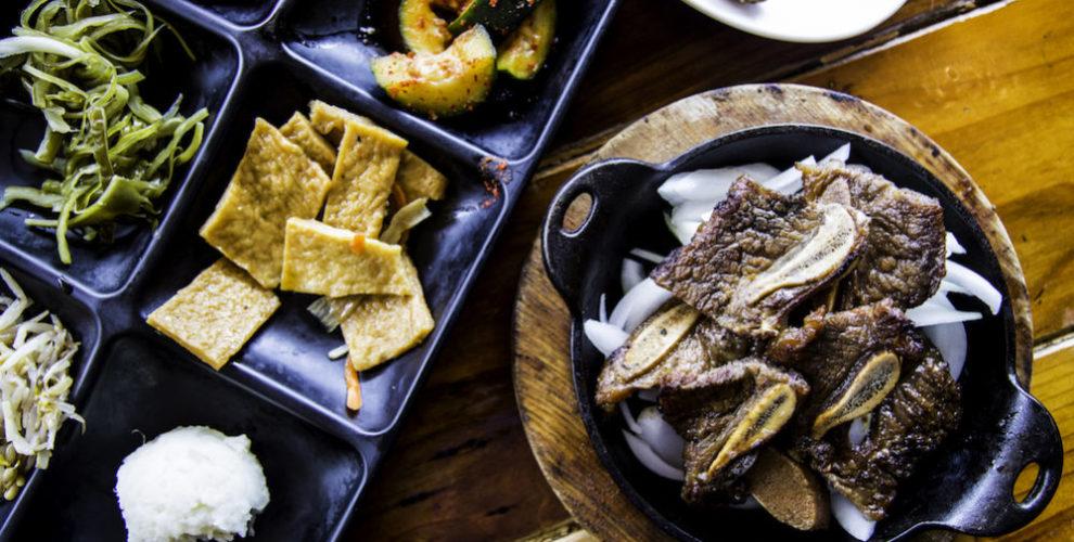 Jang Guem's galbi (marinated short ribs)