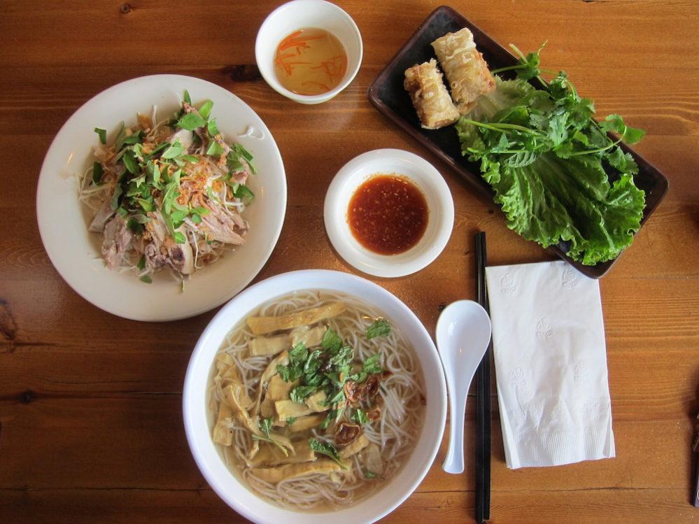 Bun mang vit from the kitchen of Bun Mang Vit Thanh Da.