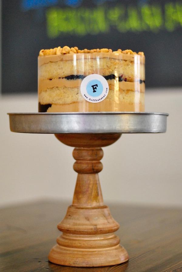 The PB&J cake from Fluff Bake Bar.