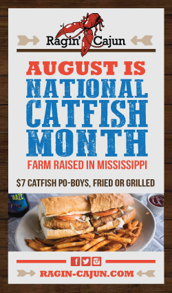 Ragin Cajun catfish
