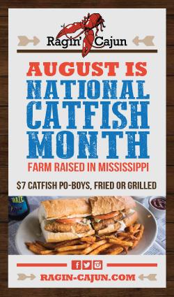 Ragin Cajun catfish