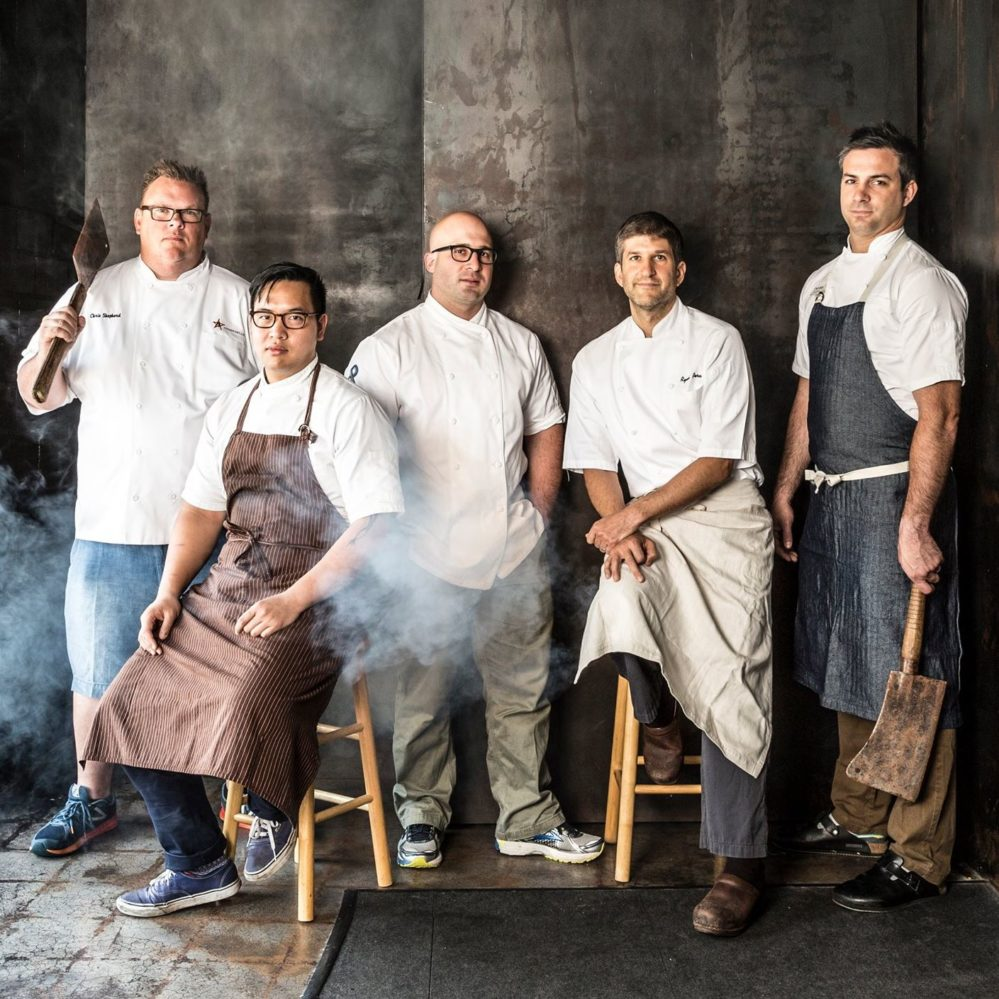 Chef Chris Shepherd along with Houston chefs Justin Yu, Seth Siegel-Gardner, Ryan Pera and Terrence Gallivan will host Southern Smoke for the third year, on October 22, 2017. Photo from https://www.facebook.com/southernsmoke.org