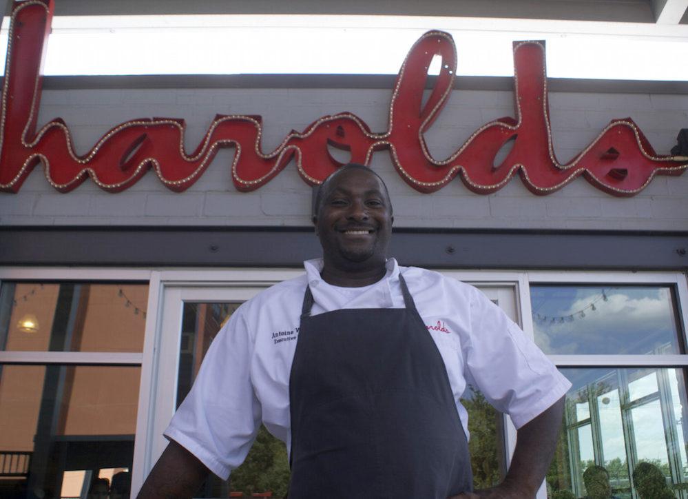 Antoine Ware of Harold's in the Heights