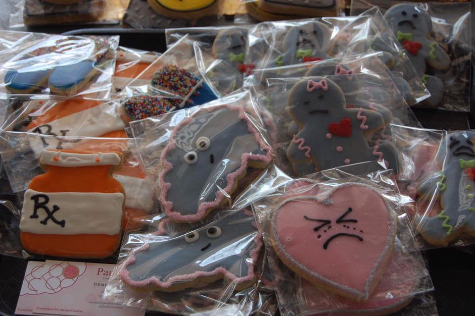 These cookies are really cute, yes, but they're for a serious cause.