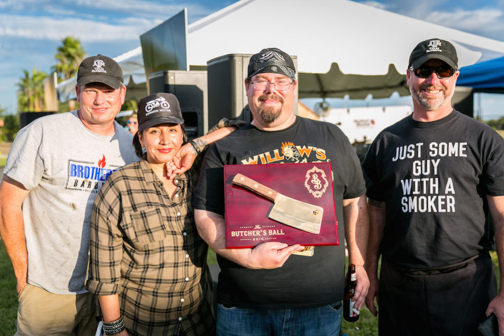 Don't overdo it during the Boucherie vs. Matanza competition. There is still the Golden Cleaver contest to taste. Featured is the 2016 Golden Cleaver winning team, headed by Willow Villarreal.