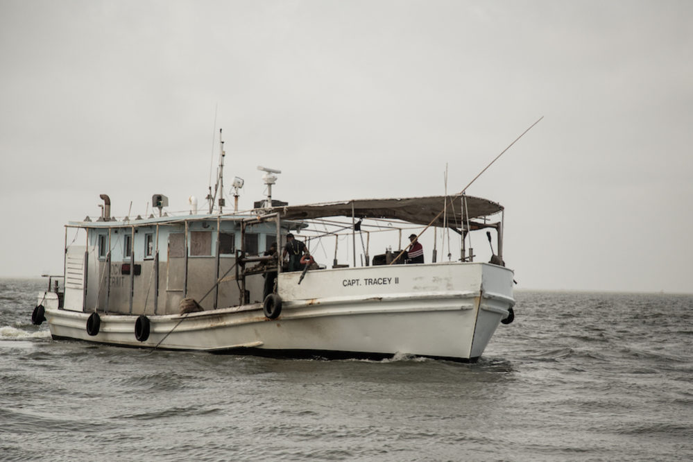 Presige Oyster, Inc has boats from the Gulf of Mexico up to New England.