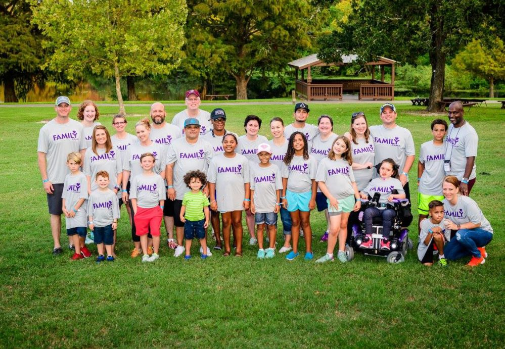 Patients and survivors along with their family are able to experience the freedom of camp with fundraising through Iron Somm.