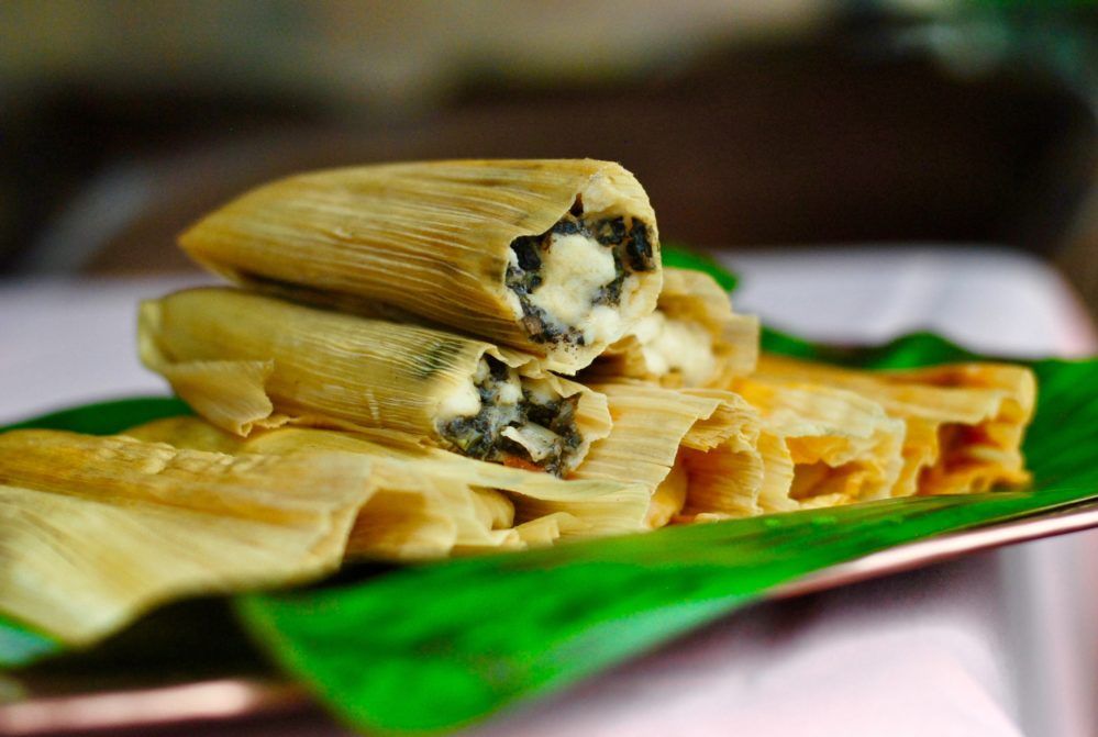 Mushroom tamales from Picos make for a great side dish at Thanksgiving.