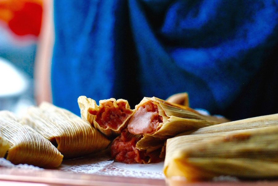 Sweet tamales like strawberry and dulce de leche are a fun addition to the dessert table.