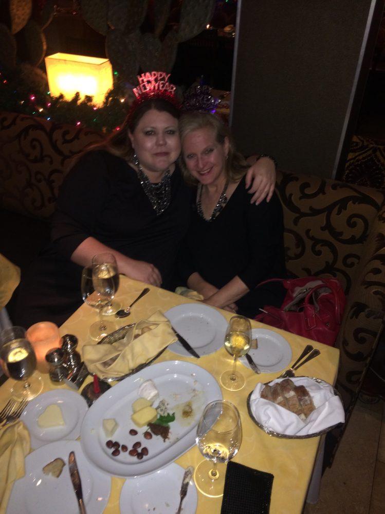 Judy and Houston Food Bank coworker Lisa